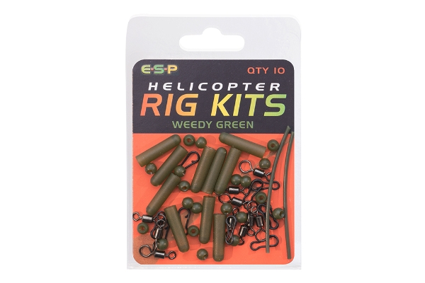 Heli chod rig kit ESP Helicopter Rig Kits All Colours